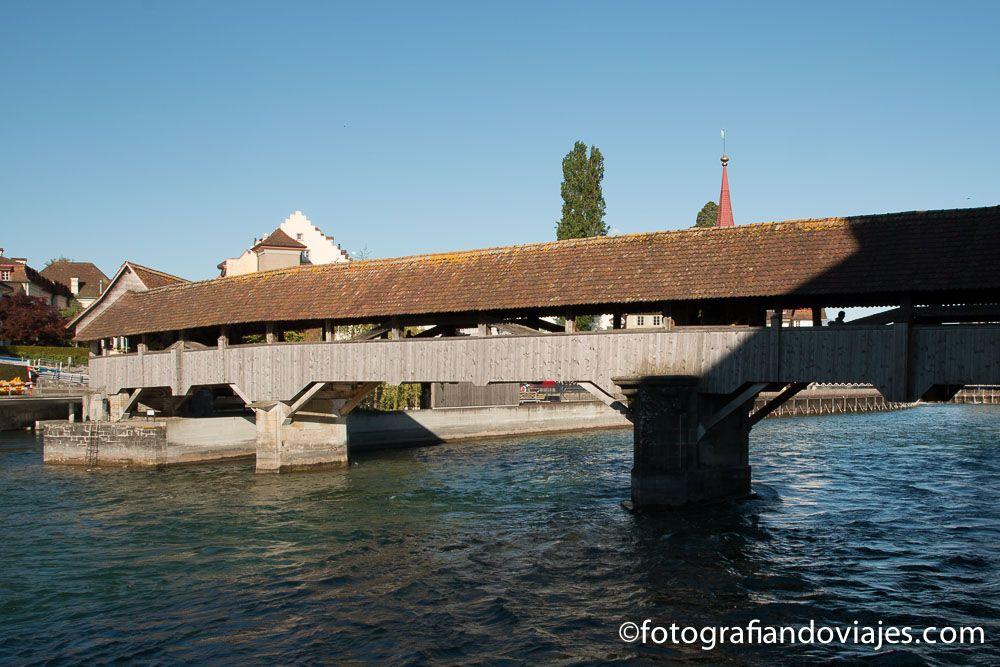 preuerbrücke o puente Spreuer Lucerna Suiza