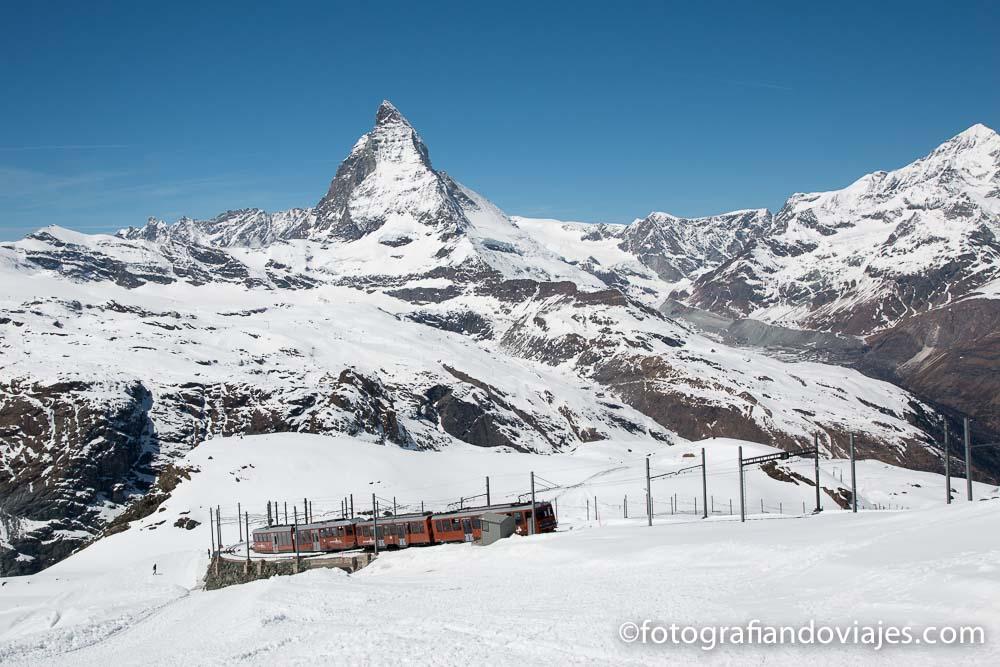 Suiza Matterhorn y tren cremallera desde Gornergrat