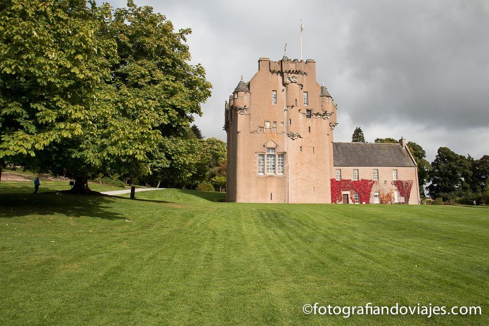 Viaje en coche por Escocia. Castillo Crathes