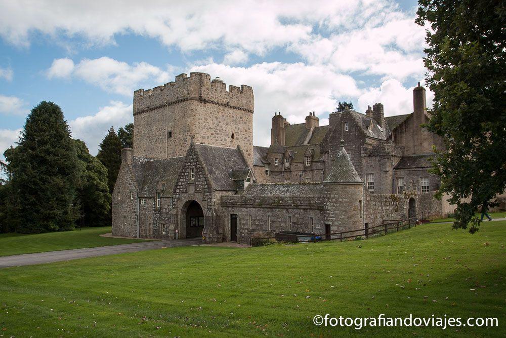 Viaje en coche por Escocia. Castillo Drum