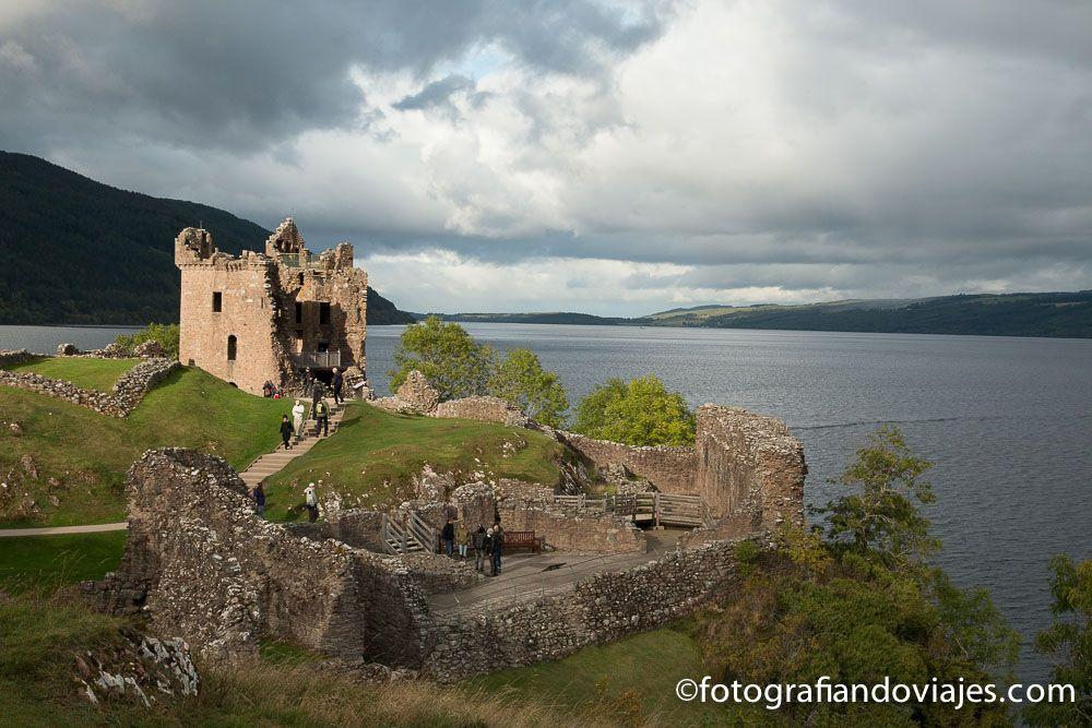 Viaje A Escocia, castillo Urquhart