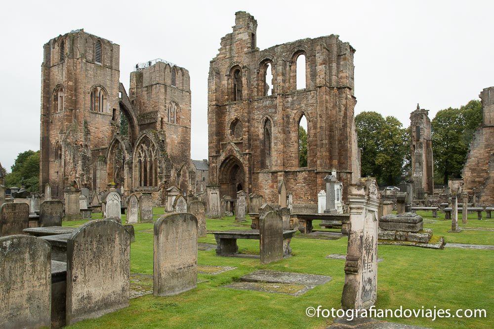 Abadia de Elgin Escocia