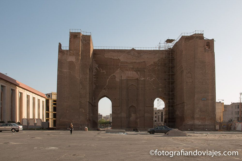 Fortaleza de Tabriz Arg-e Tabriz Alishah Iran
