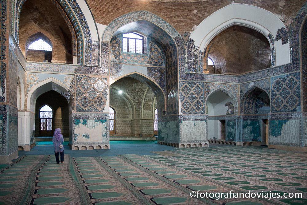 Mezquita azul de Tabriz Iran