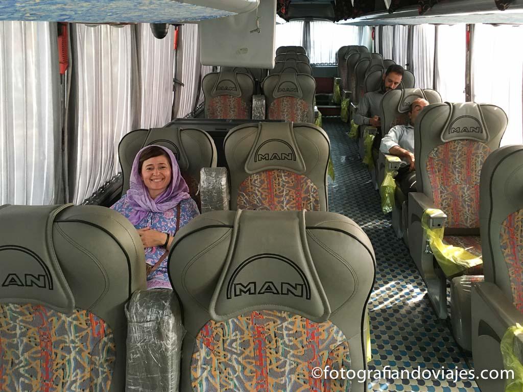 Transporte autobus Iran