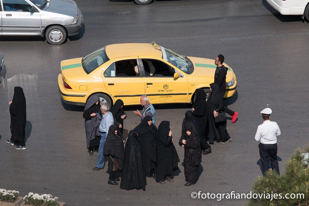 Transporte taxi Iran