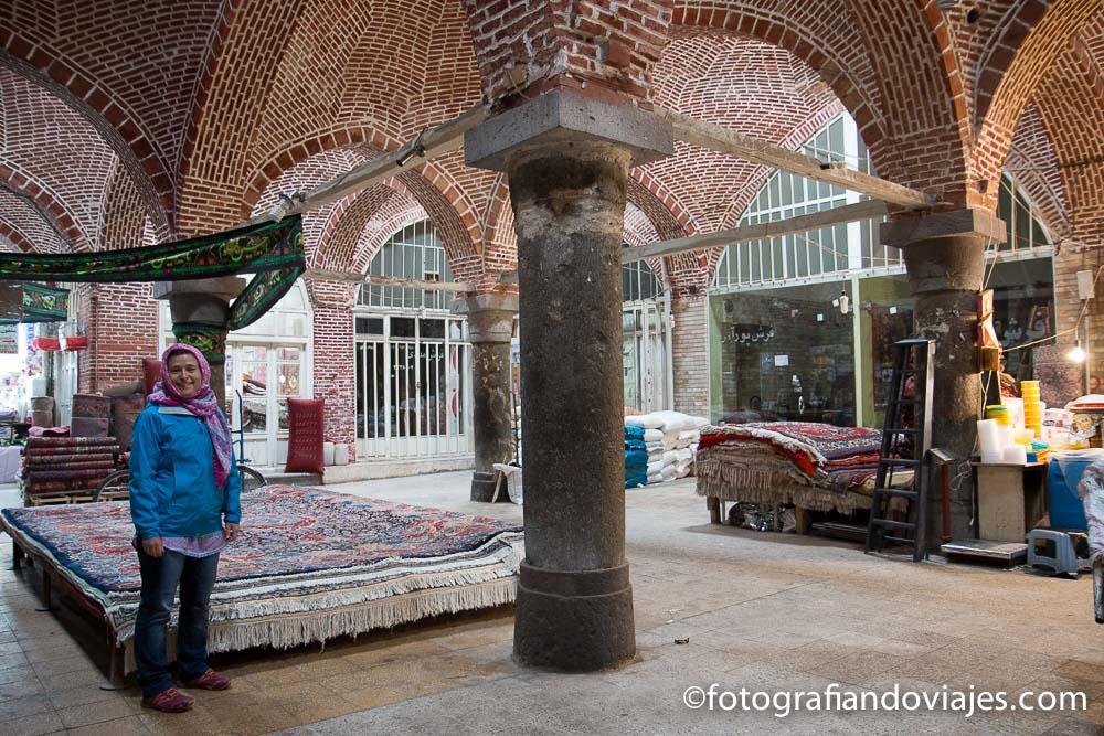 Bazar de Ardabil, Irán