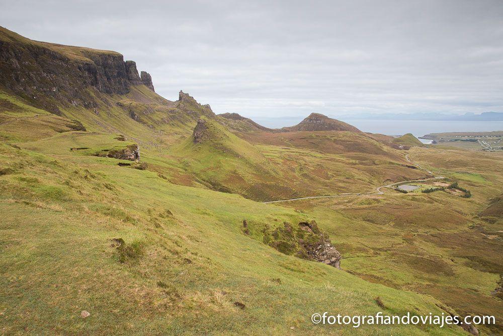 Picos de Quiraing, Escocia