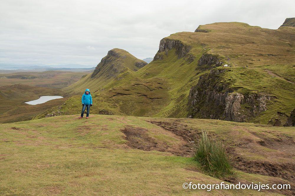 Picos de Quiraing Escocia Skye island