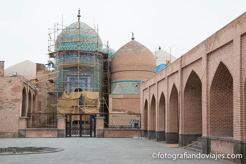 Mausoleo Sheikh Safi al-Din Khanegah o Safi od-Din en Ardabil Iran