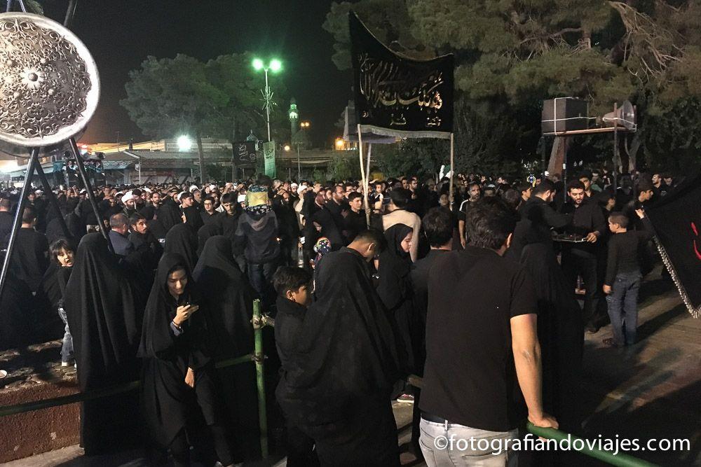 Fiesta de la Ashura en Qom