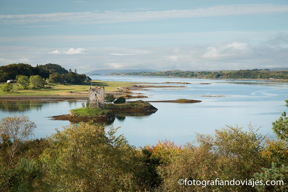 Castillo de Stalker Escocia