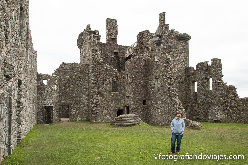 Castillo de Kilchurn en Escocia