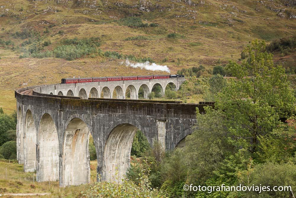Tren glenfinnan Escocia