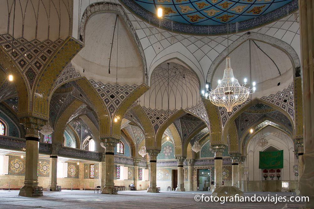 mezquita Iman Hassan que ver en Qom