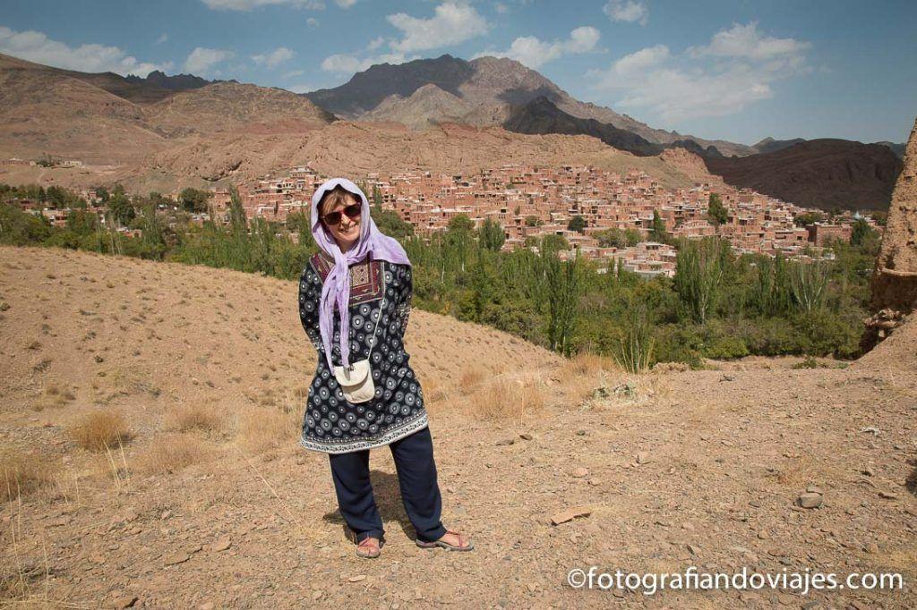 Vista panorámica de Abyaneh