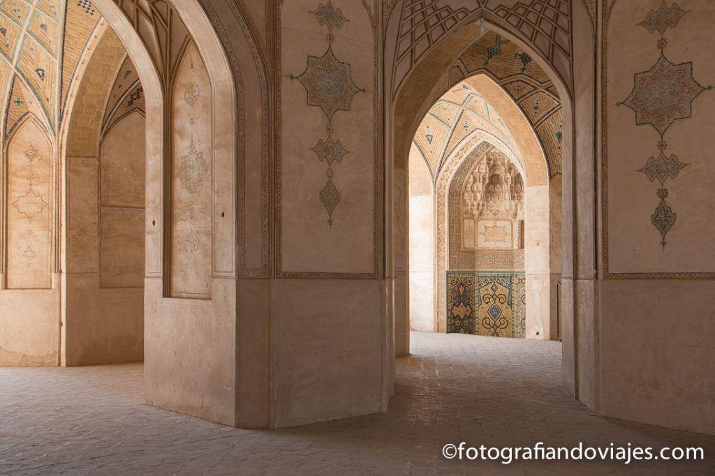 mezquita Agha Bozorg en Kashan, Iran
