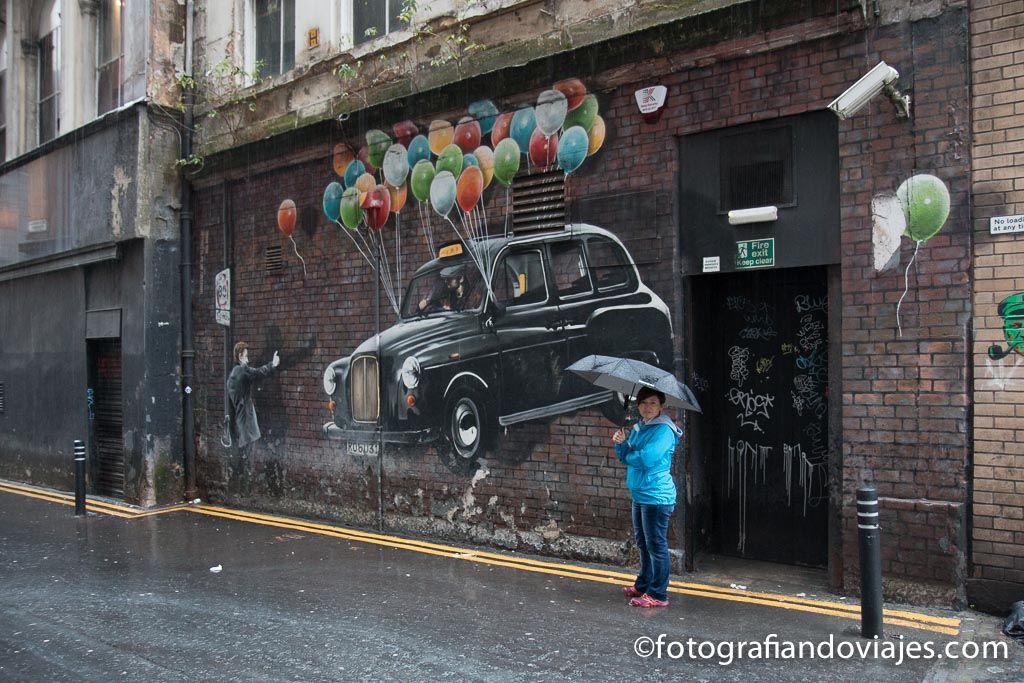 Ruta de los grafitis de Glasgow