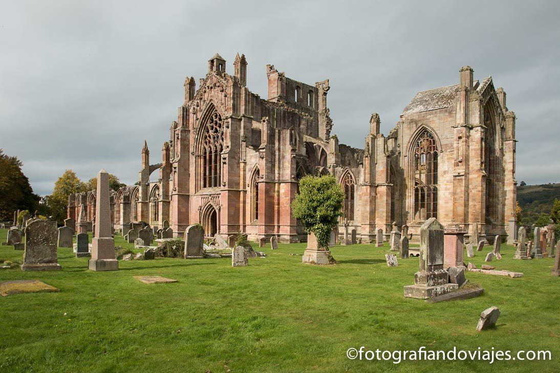 Abadia Melrose Escocia