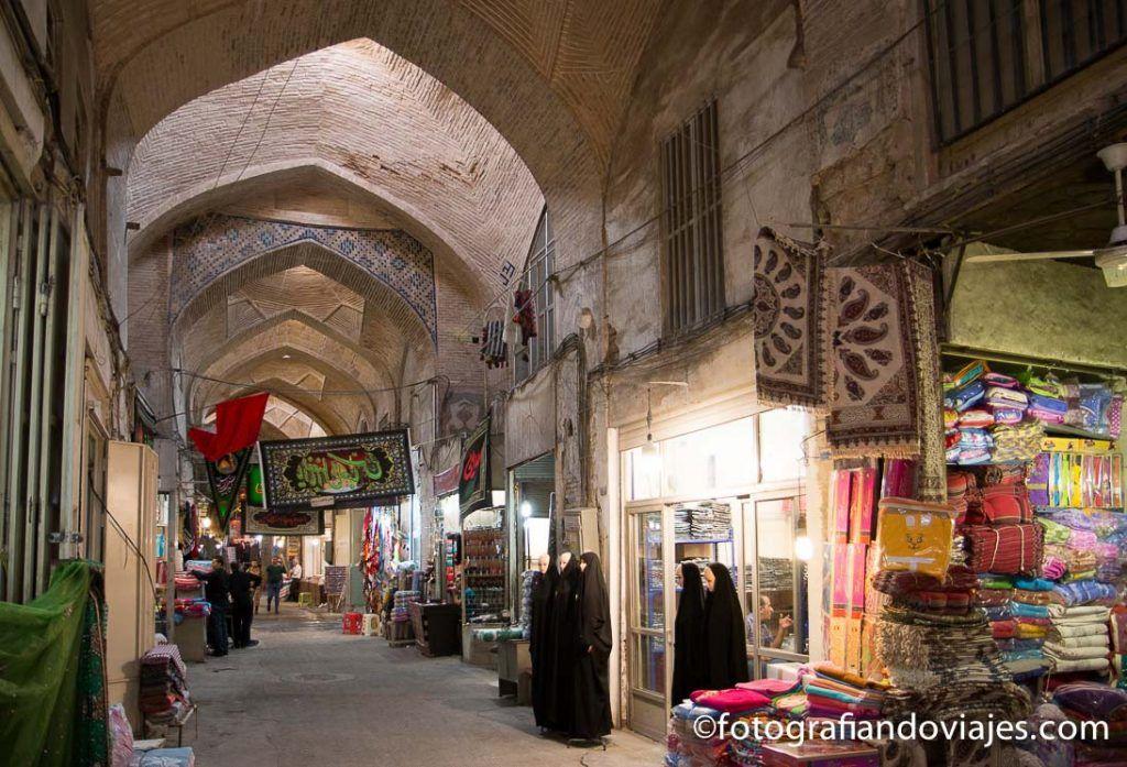 bazar de Isfahan o bazar Bozorg