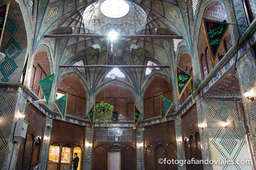 Bazar de Isfahan Caravanserai Malekh Timcheh
