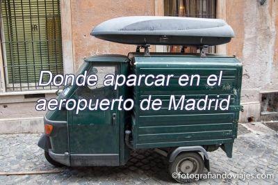 Aparcar Madrid
