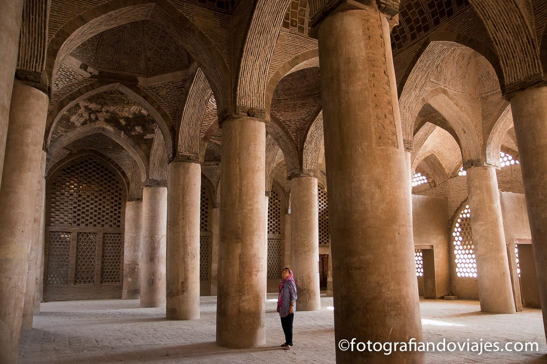 Mezquita Jameh viernes Isfahan Iran
