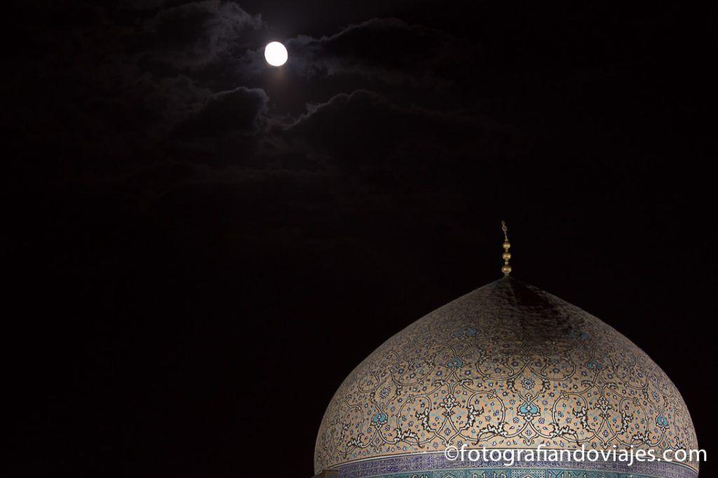 Cupula de la Mezquita Sheih Lotfollah en Isfahan