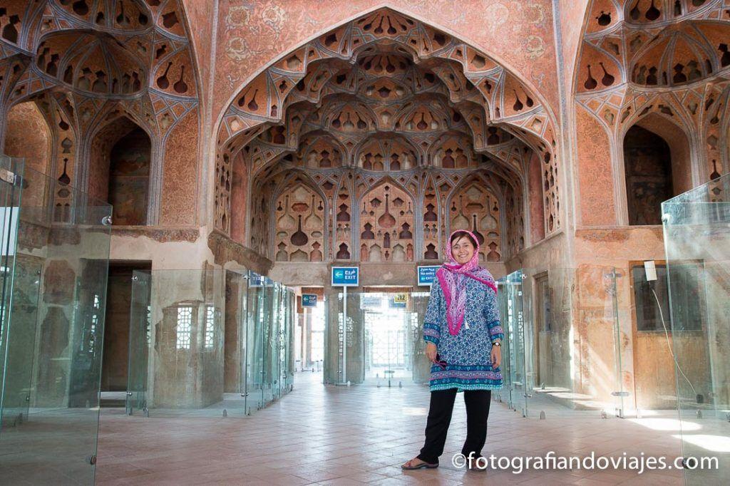 Palacio Ali Qapu en Isfahan