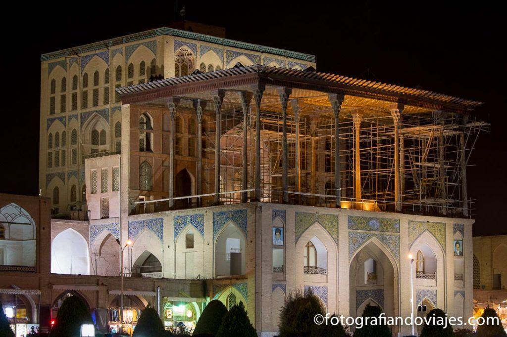 Palacio Ali Qapu imprescindible que ver en Isfahan