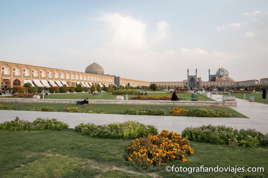 Plaza del Iman o Naqsh-e Jahan en Isfahan