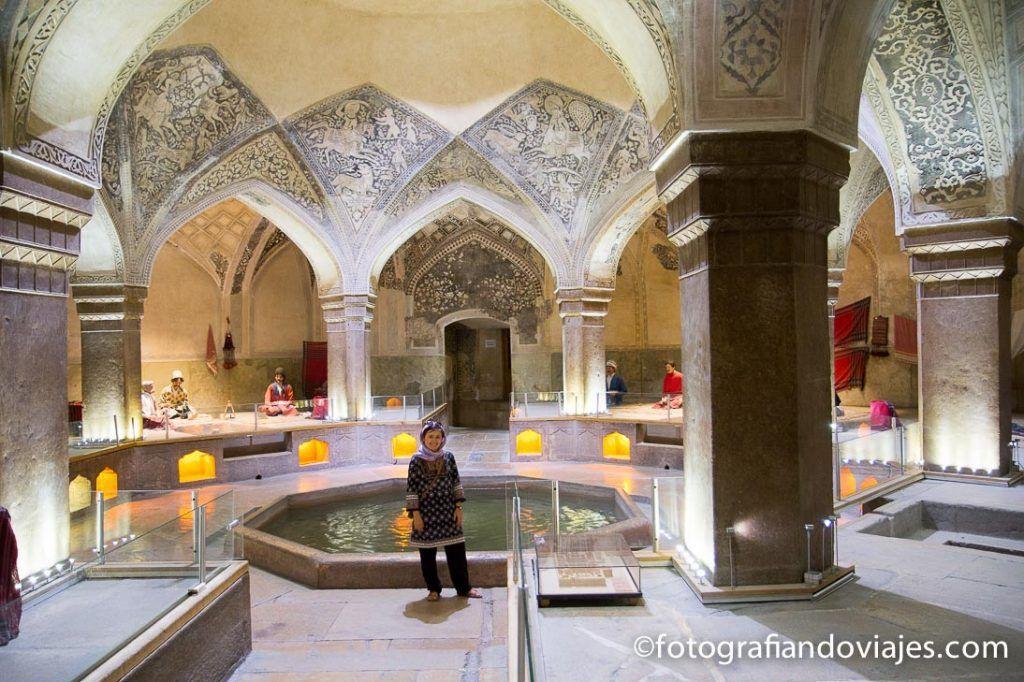 que ver en shiraz Hamman-e Vakil o baños Vakil