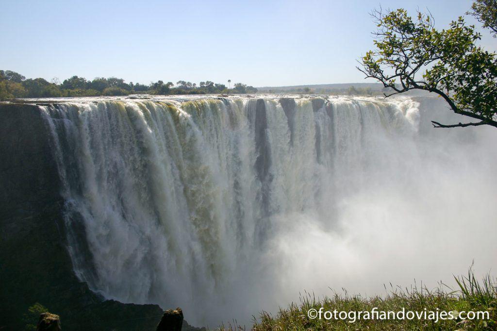Cataratas Victoria en Zimbabwe