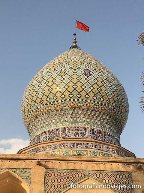 cupula del mausoleo Ali-Ibn Hamzeh