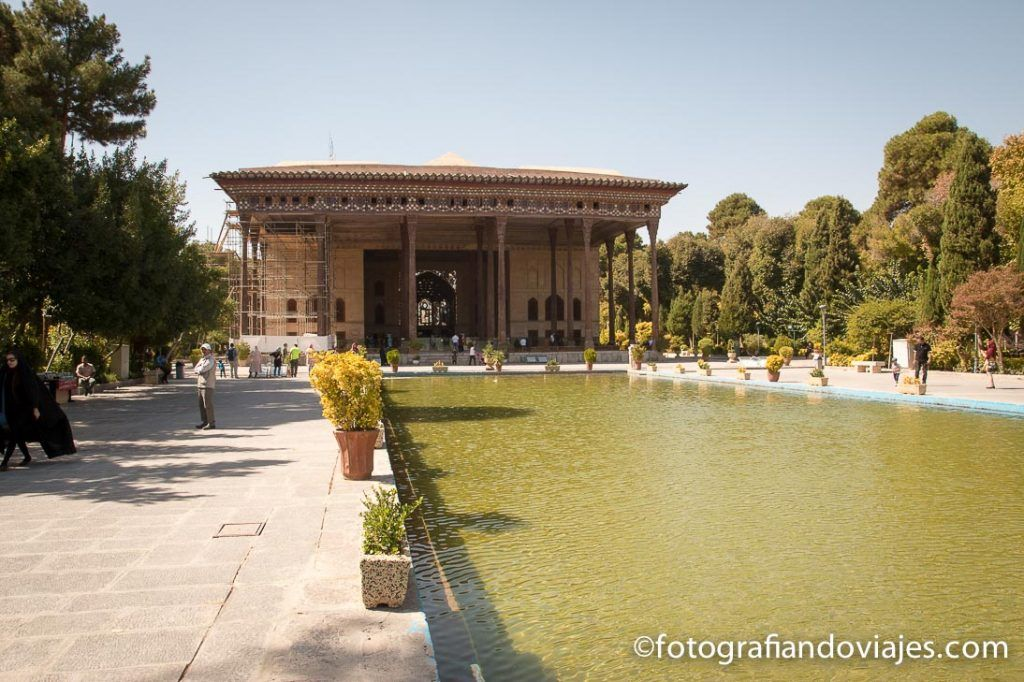 palacio de las 40 columnas que ver en Isfahan