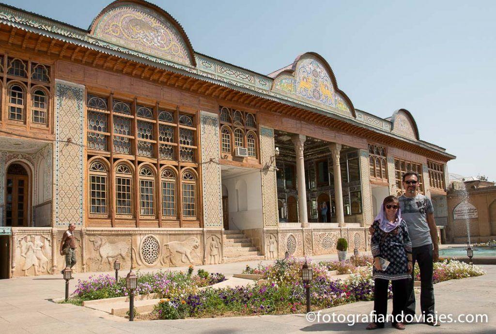 Palacio jardin Naranjestan Qavam