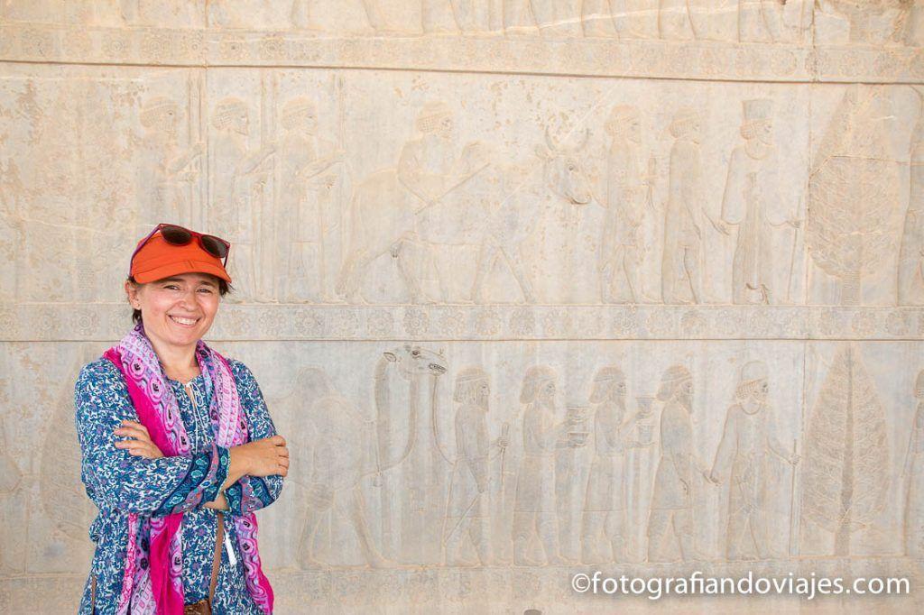 ruinas de Persepolis en Shiraz