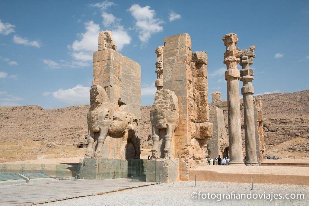 Entrada a Persépolis