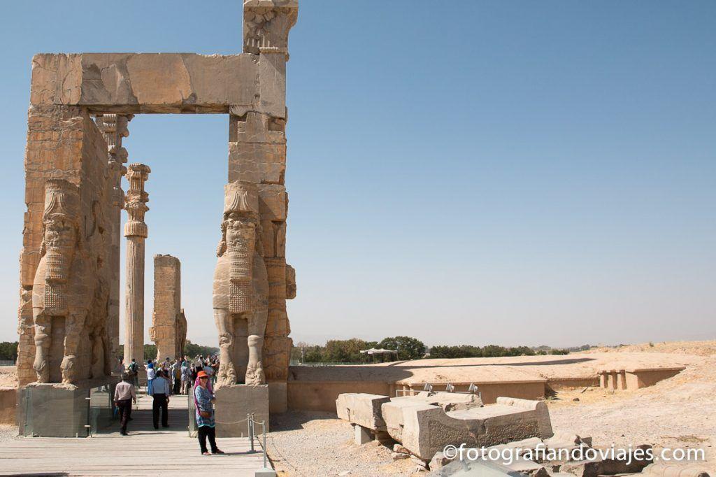 Puerta de entrada a Persépolis