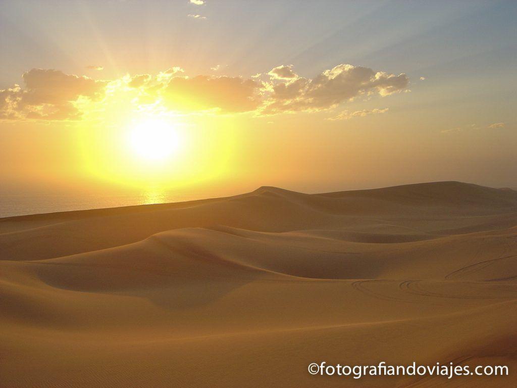 Swakopmund en Namibia desierto