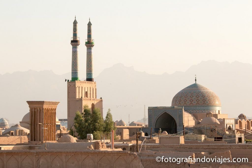Mezquita Jameh o del viernes de Yazd
