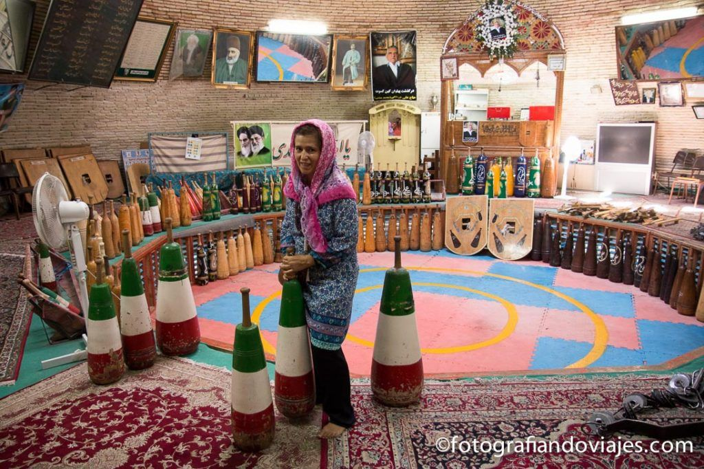 gimnasio tradicional Saheb Azaman Zurkhaneh