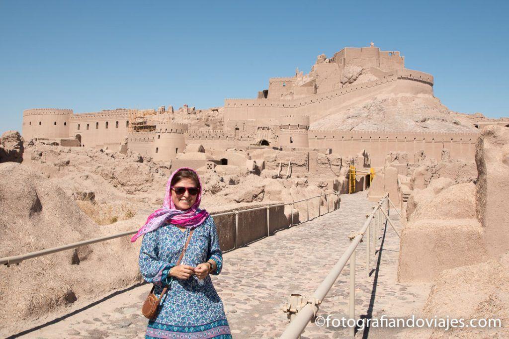 Ciudadela de Bam en Iran