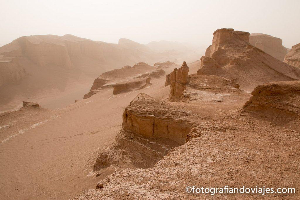 Kaluts del desierto lut iran
