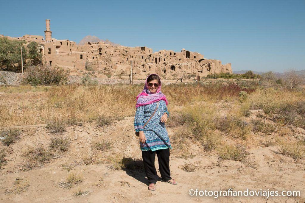 Kharanaq cerca de Yazd