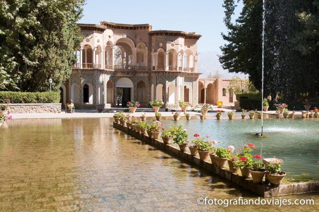 Jardin Bagh-e Shazdeh en Mahan