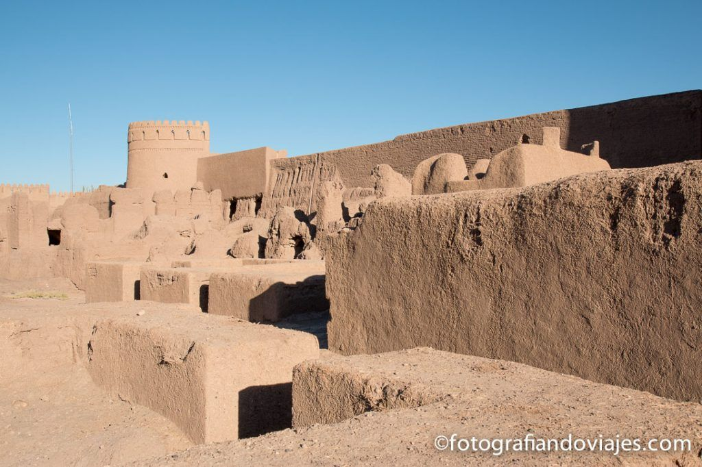 Fortaleza de Rayen en Iran