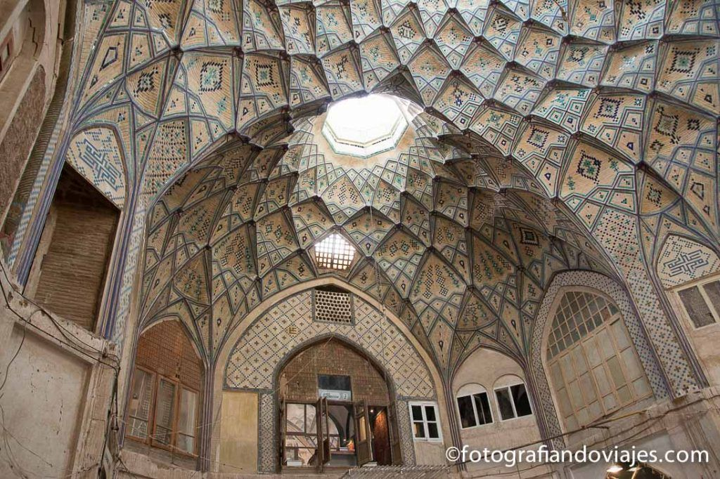 Caravanserai del bazar de Kashan