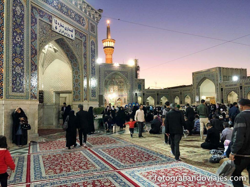 mausoleo del Iman Reza en Mashhad