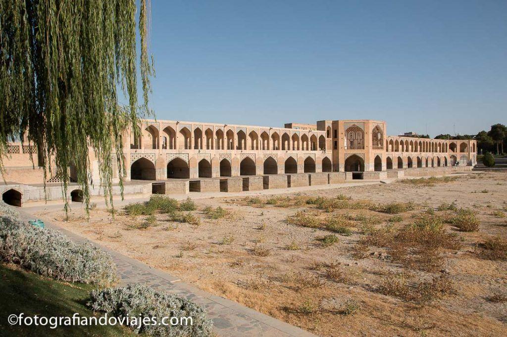 Puente Khaju que ver en isfahan iran